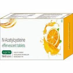 N-Acetylcysteine Effervesent Tablets