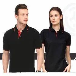 Stylish Black Polo T-Shirt
