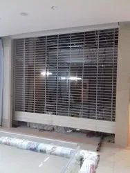 Commercial Grill Pattern Rolling Shutter