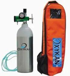 2 L Filled  Portable Oxygen Cylinder Kit