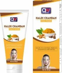 Athens Wellness Herbal Haldi Chandan Face Wash, Age Group: Adults, Packaging Size: 100 Gm