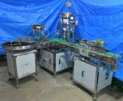Peristaltic Pump based Vial Bottle Rotary Automatic Filling, Capping, Labeling And Turn Table