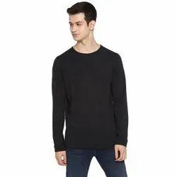 Tom Tailor Black Grey Melange Pullover Sweater