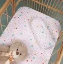 Organic Cotton Fitted Crib Sheet