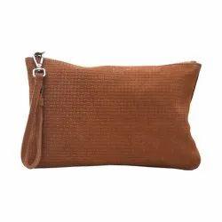 Brown Ladies Leather Wallets