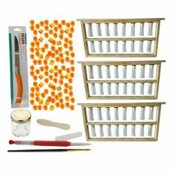 Grafting Frame with Grafting Needle Queen Cell Cup & Other Accessories