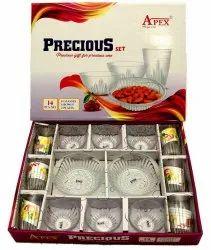 Apex Precious Glass Bowl Set, For Home