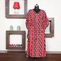 Indian Handicraft Rayon Kaftan Lounger
