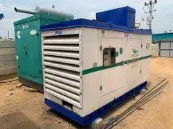 125kVA Used Kirloskar Diesel Generator, 3-Phase