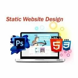 HTML5/CSS Static Website Development Service, With Online Support
