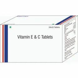 Vitamin E & C Tablets