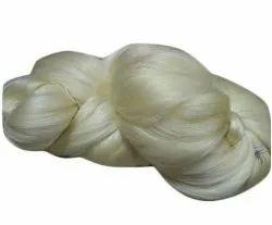 White Raw Silk Yarn