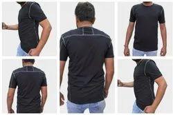 The Five Polyester Lycra Men Shirt