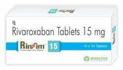 Rivaroxaban  5/10/15/20 Mg Tablet