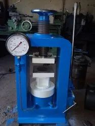 Analog Compression Testing Machine Hand Operated, For Concrete Cube, Dial Type