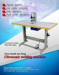 Face Mask Ear Loop Ultrasonic Plastic Welding Machine