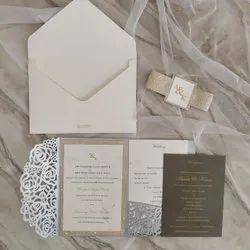 Weeding Cards, 3 Leaflet