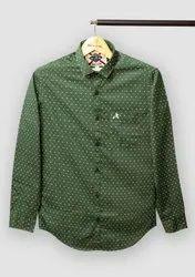 Jack&Jones Cotton Mens Check Formal Shirt, Handwash