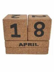 Cork Table Calendar, For Home