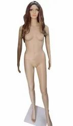 Standing Plastic Female Mannequins Dummy, For Showroom, Size: 6 Ft