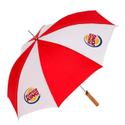 Red Umbrella Printing Service, Model Name/number: 2 Fold, Size: 23*8