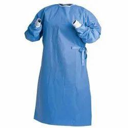 Cotton Plain Green Doctors Apron, 0.2, Size: Free Size