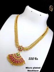 Imitation Long Necklace Set