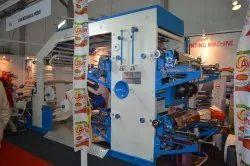 Multicolour Flexographic Printing Machine