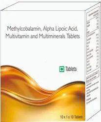Methylcobalamin, Alpha Lipotic Acid, Multivitamin And Multiminerals Tablets