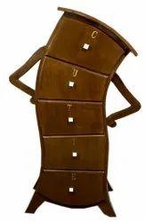 Jupind Brown JIWC02 Wooden Cabinet, For Home