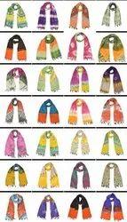 Shibori Kantha  Scarves