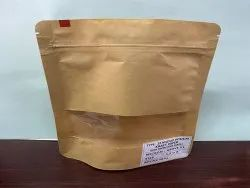 Kraft Paper Pouches With Window