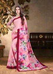 Ladies Designer Digital Printed Saree