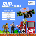 Sup 400 In 1 Games Retro Game Box 8bit With Extra Remote Game Pad