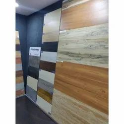 Wooden Finish Vitrified Wall Tiles, Thickness: 8 mm