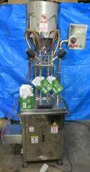 Semi Automatic Spout Pouch Paste Filling Machine