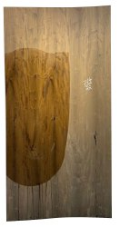 Board Brown Natural Wood Veneer, Thickness: 3mm, Size: 8*4feet (l*w)