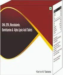 Dha, Epa, Mecobalamin, Benfotiamine 7 Alpha Lipotic Acid Tablets