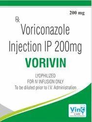 Voriconazole 200 Mg Lyophilized Injection