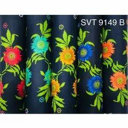 Digital Printed Cotton Nighty Fabric