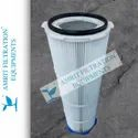 Quick Release Dust Collection Pleated Filter Cartridge
