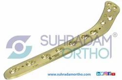 4.5mm LCP Proximal Lateral Tibia Locking Plate