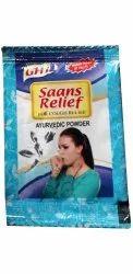 Saans Relief Ayurvedic Powder, 3g