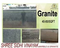 Multicolor Polished Granite Slabs, For Flooring, Thickness: 15-20 mm