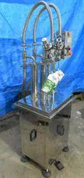 Semi Automatic Spout Pouch Liquid Filling Machine
