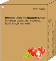 Lycopene Capsules With And Multiminerals Capsules