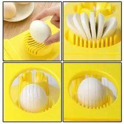 Egg Cutter 2 in 1 Mold Multifunctional Egg Slicer
