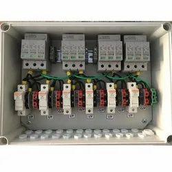 10 A 50hertz 6 In 6 Out Solar DCDB, 240 V