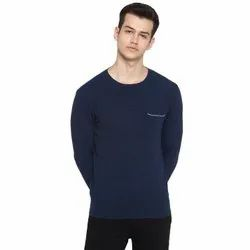 Tom Tailor Knitted Navy Men Pullover Sweater