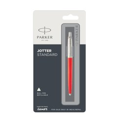 Parker Jotter Standard Refillable Ball Pen with Stainless Steel Trim